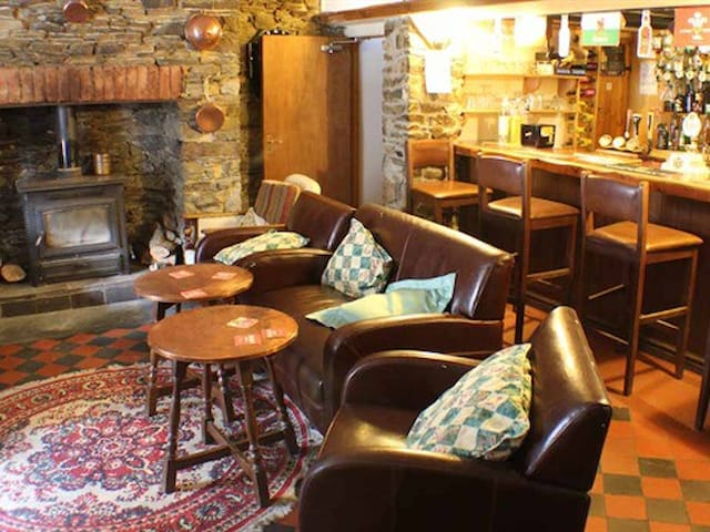 A warm welcome awaits in our bar