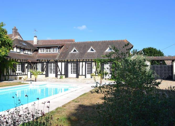 Maison Normande - 45 mn de Paris - Vaux-sur-Eure - 一軒家