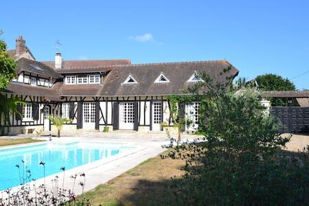 Maison Normande - 45 mn de Paris - Vaux-sur-Eure - Talo