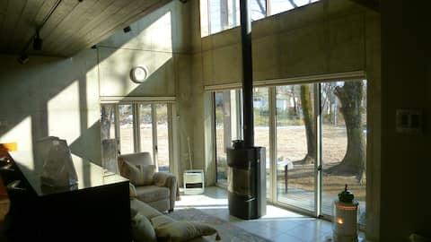 Nasu Royal Villa 大人の隠れ家御用邸近くの一軒家 気分最高!外風呂ジャグジー付き
