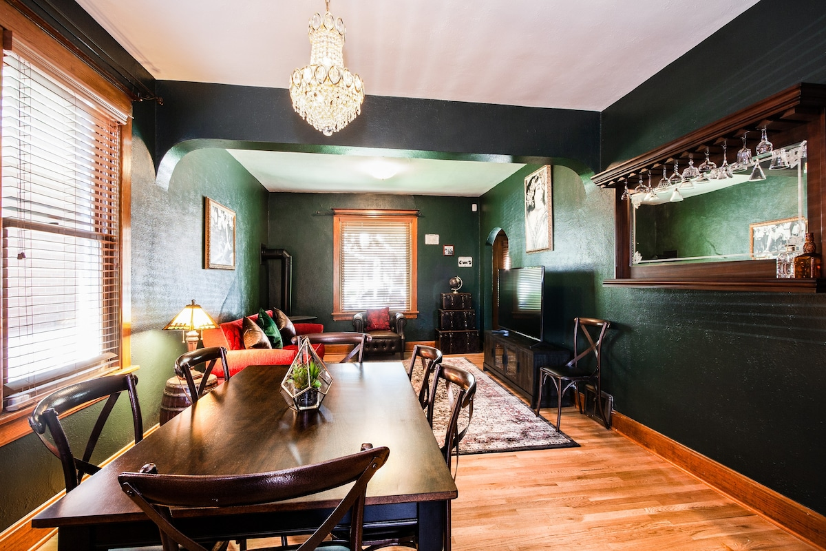 Stylish Denver Airbnb Highlands Bungalow Speakeasy