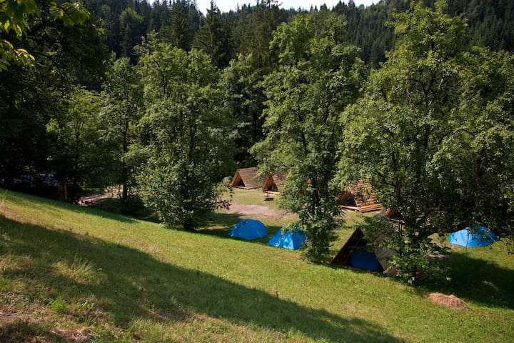 NaturPlac / Tent rental II. - Primož pri Ljubnem - Zelt