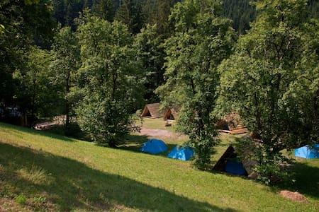 NaturPlac / Tent rental II. - Primož pri Ljubnem