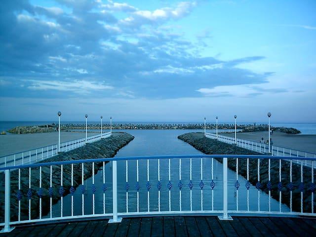 petit pont vers la mer