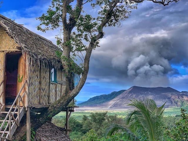 Volcano Tree Bungalow Wun