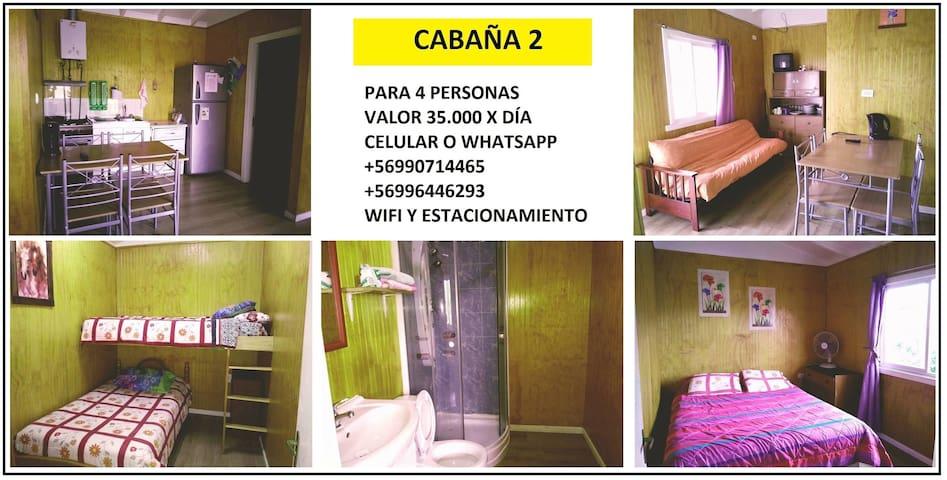 Cabaña n°2, en Osorno