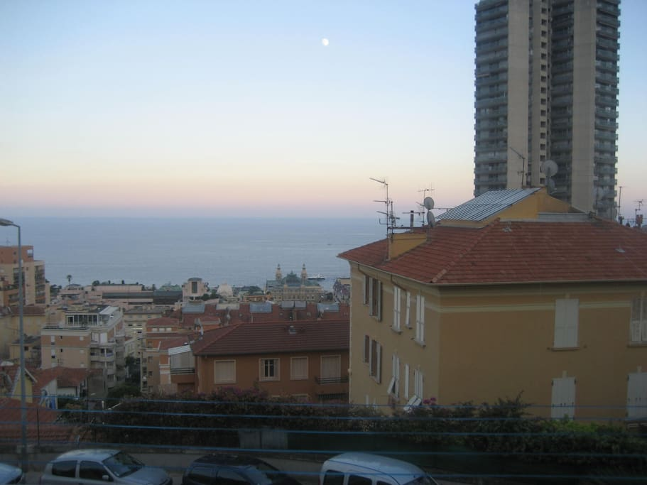 View from the Balcon directly to Monaco Center @ CASINO