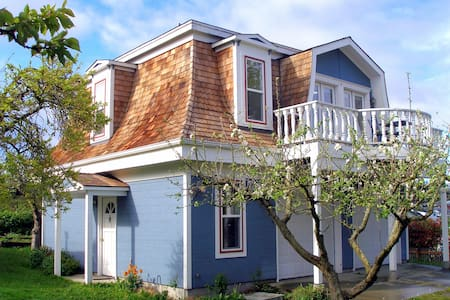 Whidbey Cottage-Walk to Everything! - Coupeville - Dom