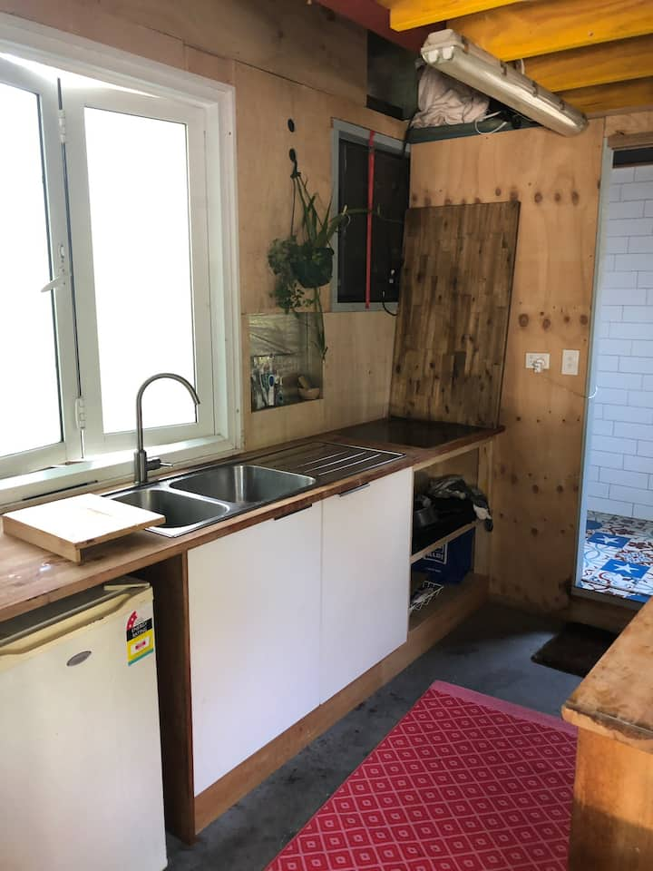 Freshwater tiny home