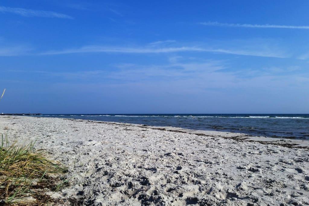 Stranden i Hou