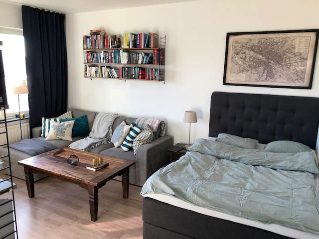 Cosy studio, close to central GBG!