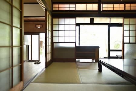 Near Miyajima Traditional Japanese house