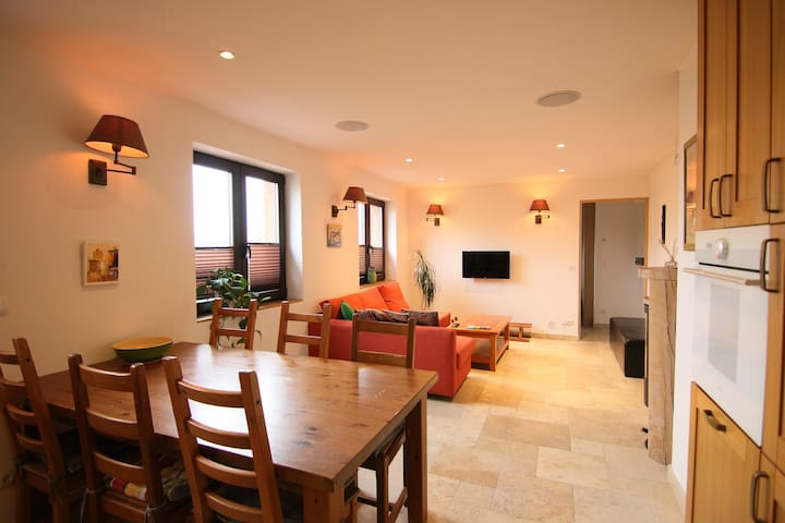 Smart Home for 6 in Ste Foy Tarentaise village.