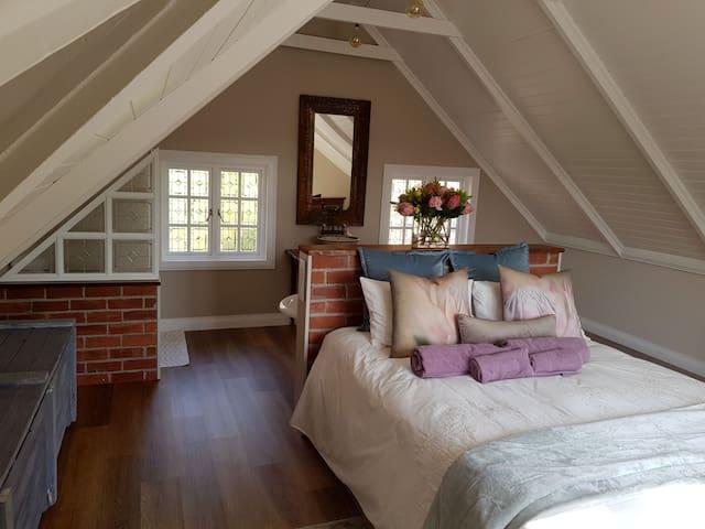 Old farmhouse loft