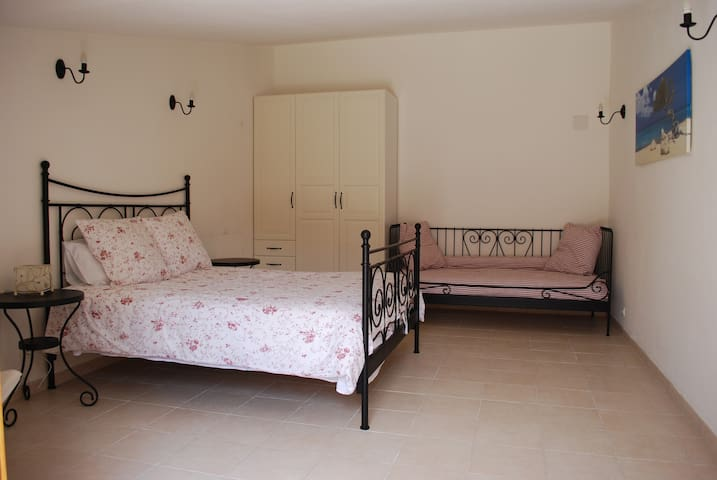 Bedroom 1 Double and Single Beds