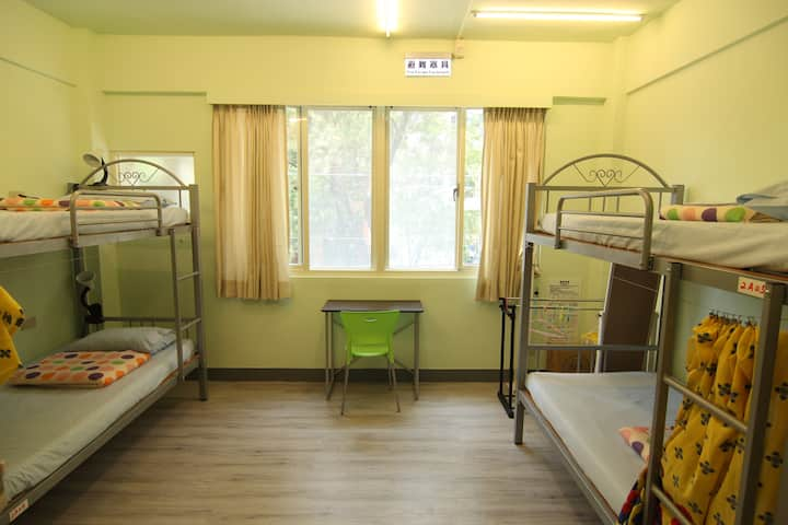 6 bed mixed dorm @ on my way hostel