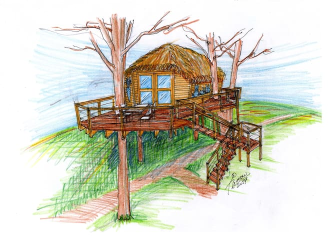 Tree House U borovice, Resort Green Valley