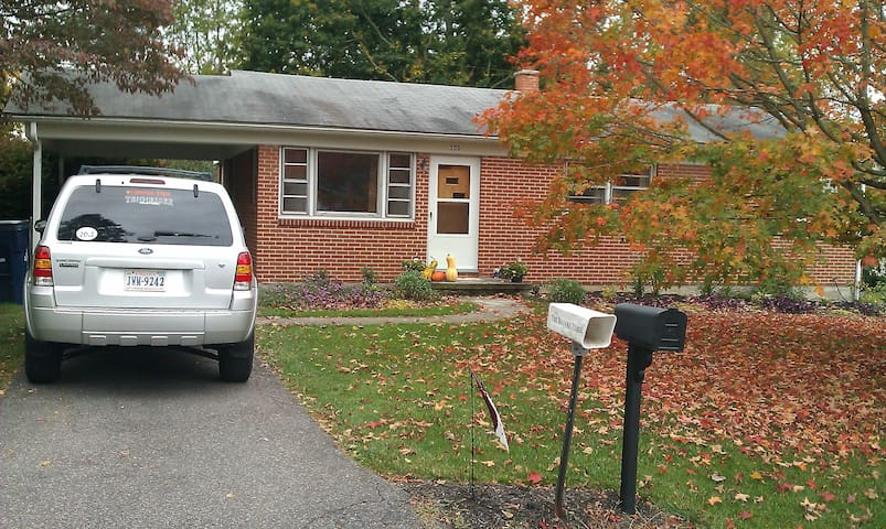 Cute Whole House Rental in Hokie Country!
