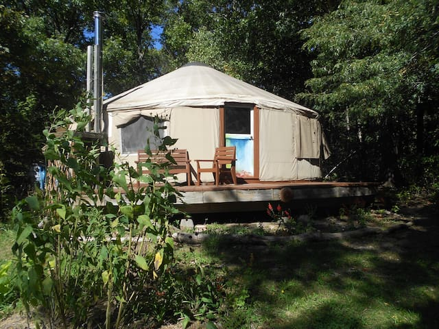 The Light Center's Pacific Yurt - Baldwin City