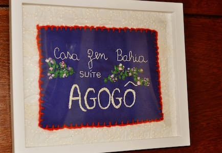CasaZen Bahia: Suíte Agogô