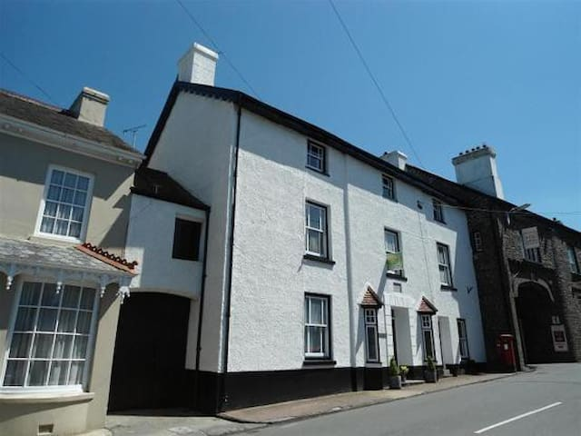 Spacious double in family home - Llangadog - Bed & Breakfast