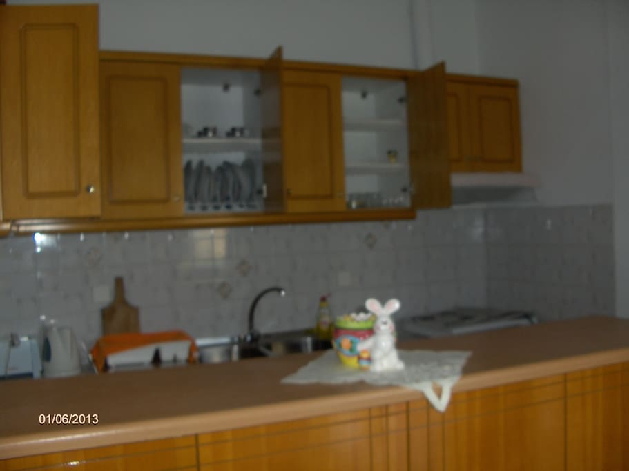 A big fully equipped kitchen