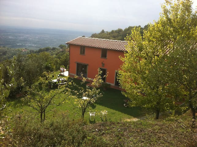 Casa al Vento Holiday House Toscana rental quiet - Serravalle Pistoiese, PT - House