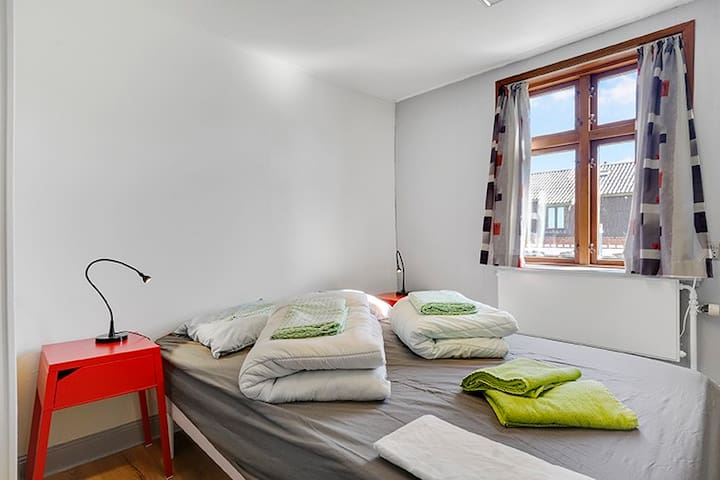 Skovly - Double bed at Ground floor