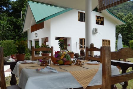 B&B TAKAMAKA - Brunch included (2 single beds) - La Digue