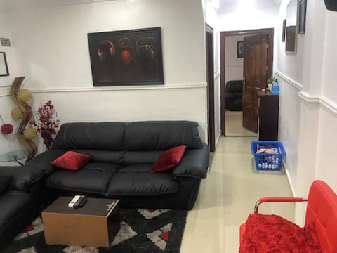 A beautiful space close to ring road and dugbe,