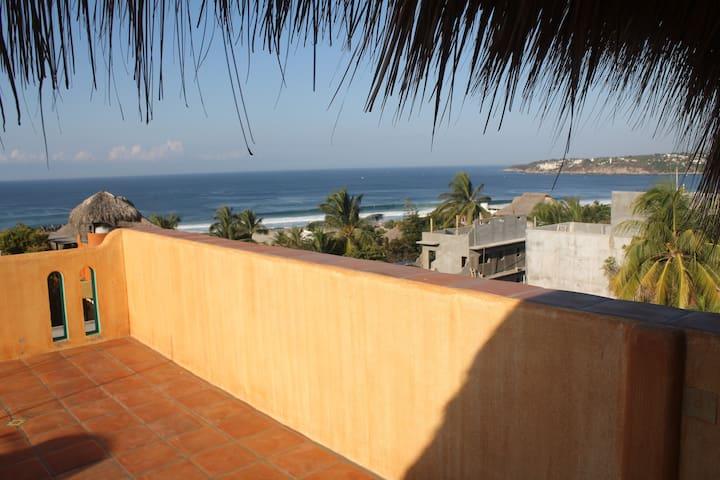 Puerto Escondido, Casa Mandala, #5 - Brisas de Zicatela - Apartment