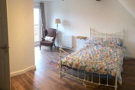 Double loft room with ensuit