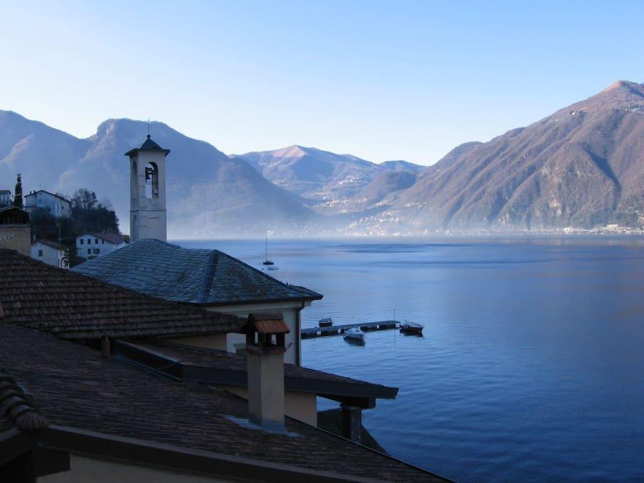 Bilocale 2 lago como vicino bellagio appartamenti in for Lago vicino milano