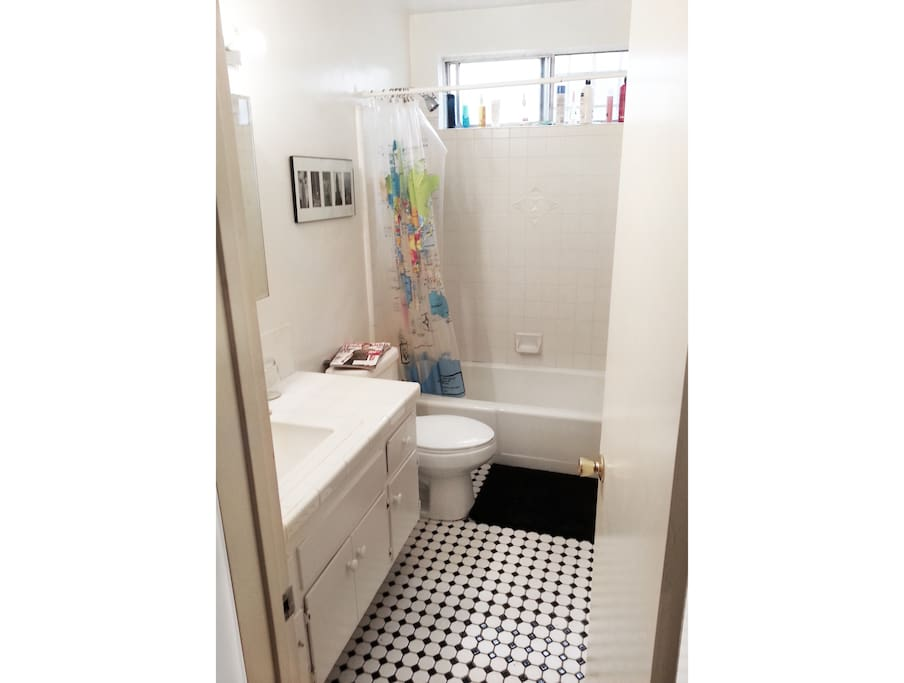 Clean Shared Bathroom