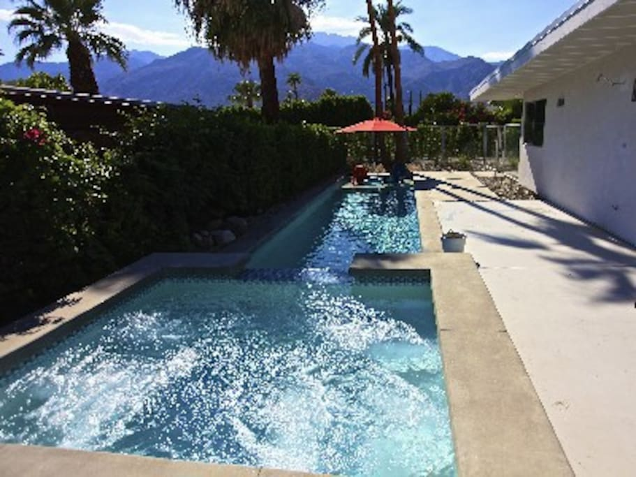 Wonderful views of the San Jacinto Mountain Range from the Pool