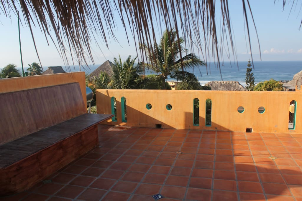 Terrace on Roof Palapa