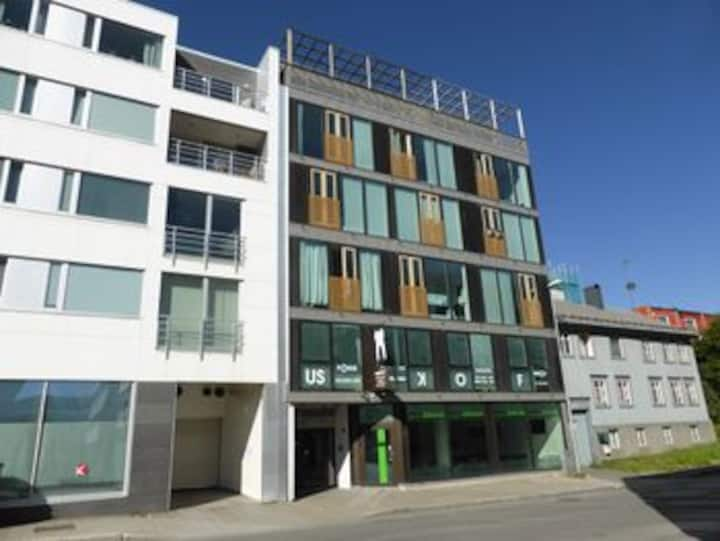 Moderne leilighet midt i Tromsø Sentum!
