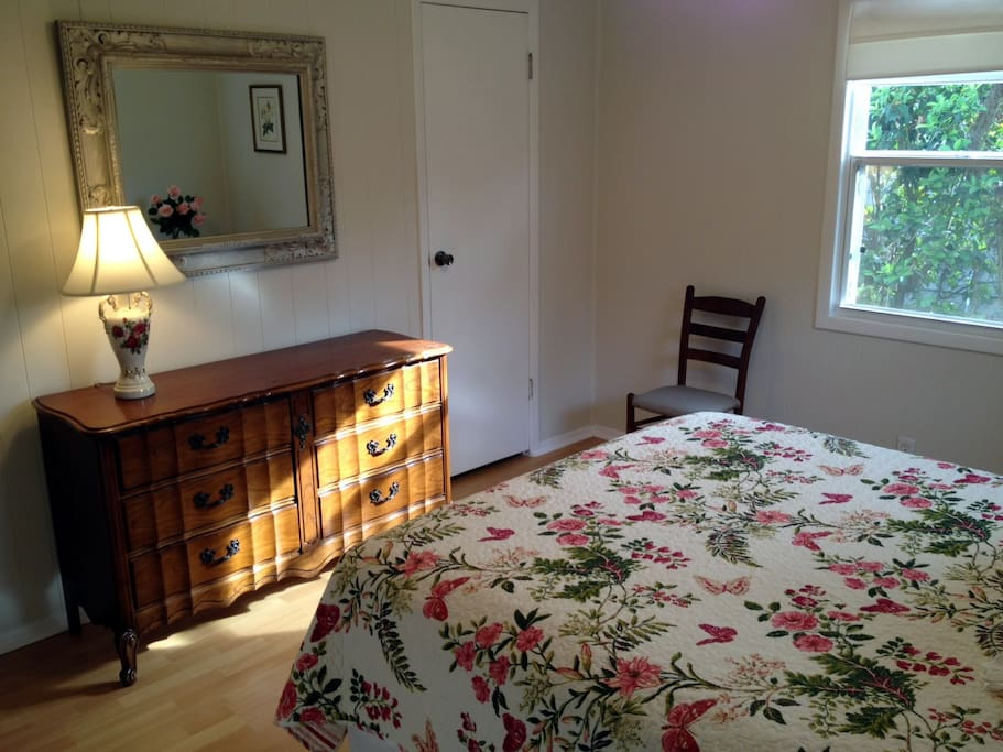 Spacious Walk-In Closet, Double Dresser ~ Plenty of Storage in Master Bedroom Suite