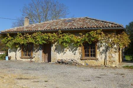 Ancienne dépendance pierre et bois - Alan - Σπίτι