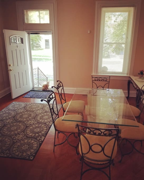 The Dining Room with seating for up to 8!