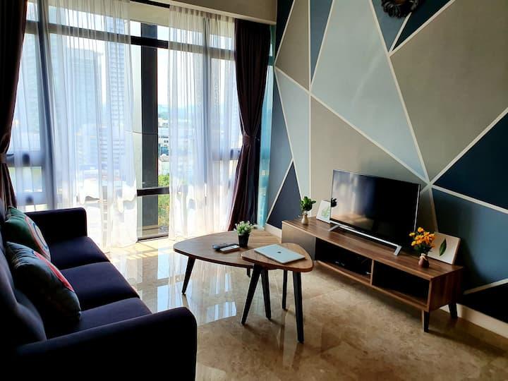 Le Manoir 1BR condo@ Anggun Residences