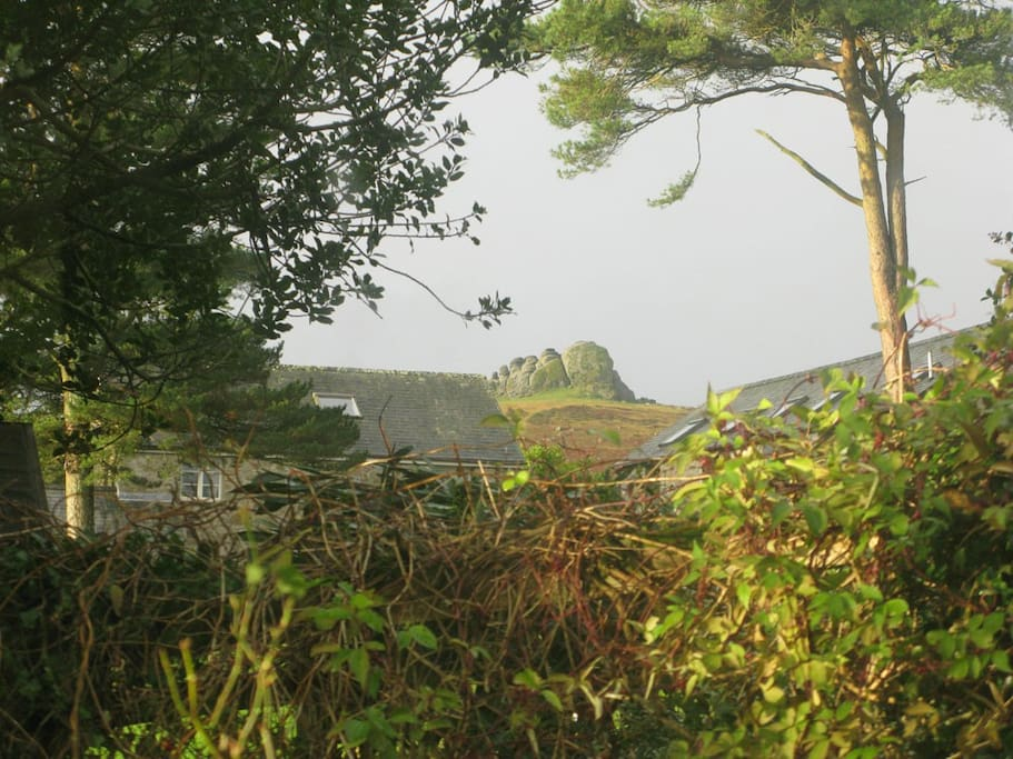 Haytor from the window