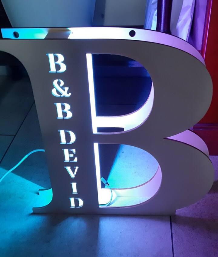 Il nostro b&b è stato creato nei minimi dettagli