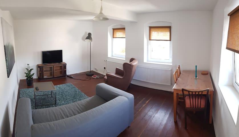 stilvolle, gemütliche Wohnung