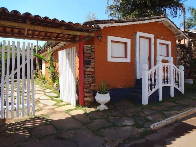 Charmosa casa rústica - Pirenópolis