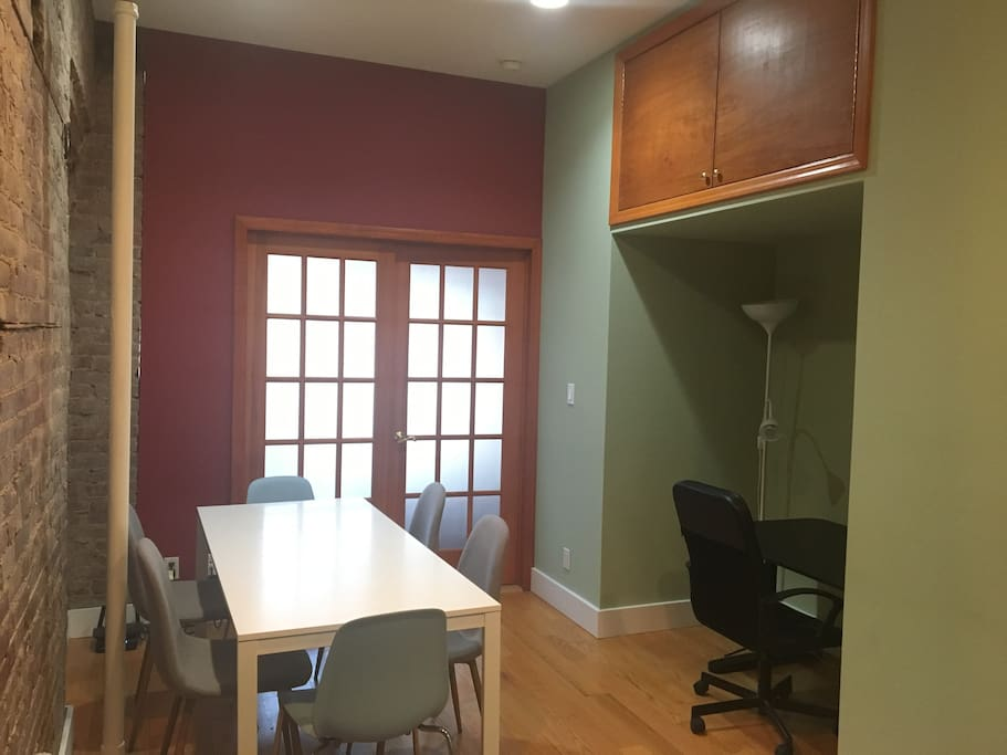 Living room - office area