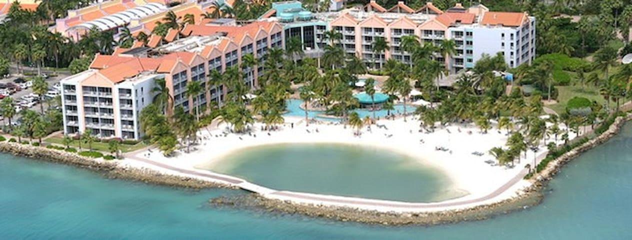 Hotel room at Rennaisance Aruba Beach And Resort