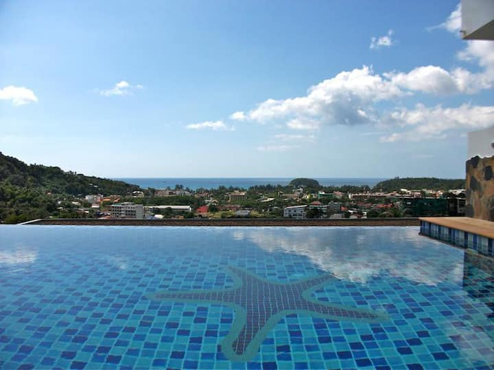 Sea View apartment in Kata