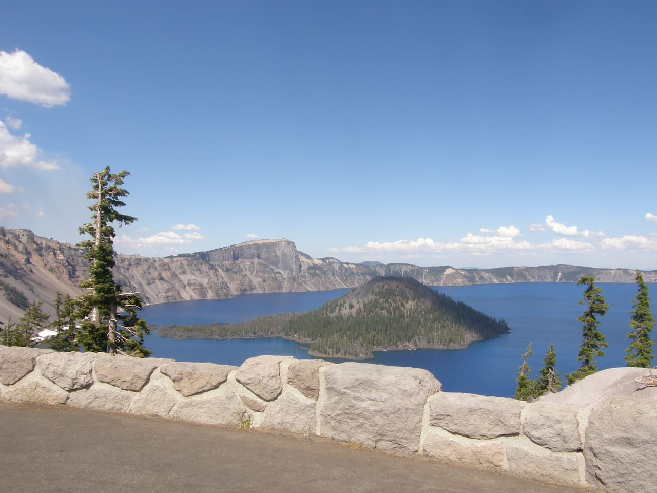 one and a half hours from crater lake