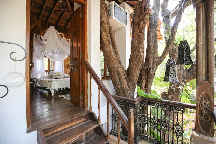 Wow Tree House, Anjuna-Vagator, North Goa - Vagator - Tretopphus